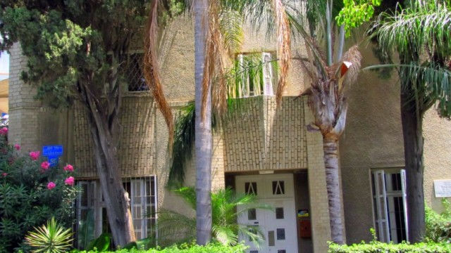 Historic Villa in the Heart of Tel Aviv for Sale