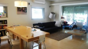 Modern Design on Sderot Chen | 3 Bedroom Apartment for Rent in Central Tel Aviv