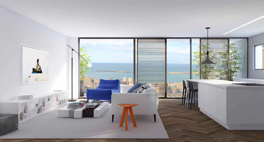 Luxury Seaside Home in Merkaz Hair – Tel Aviv's City Center