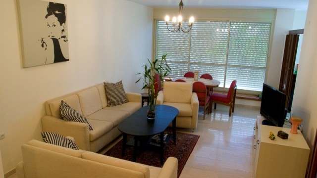 Quiet & Bright 2BR in the Heart of Central Tel Aviv