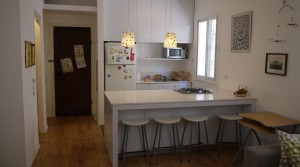2BR Apartment for Rent Next to the Beach in Central Tel Aviv