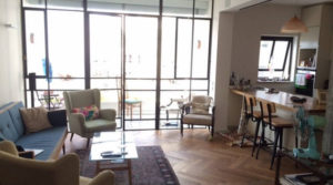 2BR Furnished Apartment for Rent on Nahmani St in Lev Tel Aviv