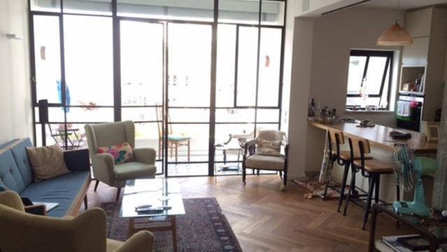 2BR Furnished Apartment for Rent on Nahmani St in Lev Tel Aviv