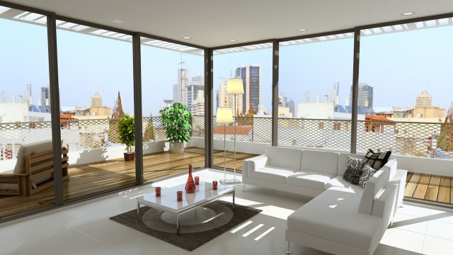 Bauhaus Penthouse in the Heart of Tel Aviv – Steps to Rothschild Blvd.