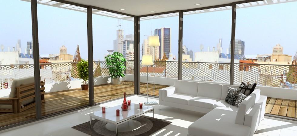 Bauhaus Penthouse in the Heart of Tel Aviv – Steps to Rothschild Blvd.