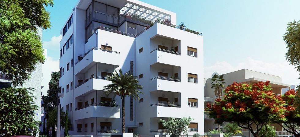 Spacious Bauhaus Penthouse on Rothschild Boulevard