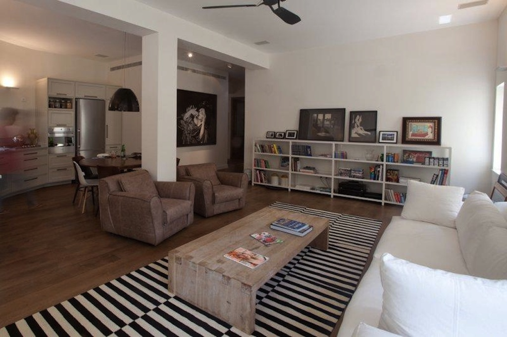 Luxury Garden Apartment in the Heart of Tel Aviv's Lev Hair District