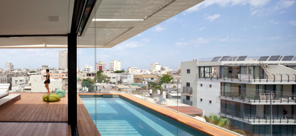 Stunning Townhouse in Tel Aviv's Old North by Pitsou Kedem