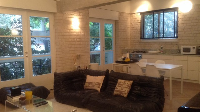 Charming 2BR Luxury Garden Apartment for Rent Next to Rothschild