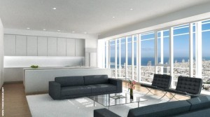 Luxury 2BR Apartment with Sea Views in the Meier on Rothschild Tower