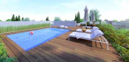 Bauhaus Penthouse with Rooftop Terrace for Sale Next to Gordon Beach