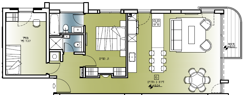 Brand New 2br Apartment For Sale In Lev Tel Aviv
