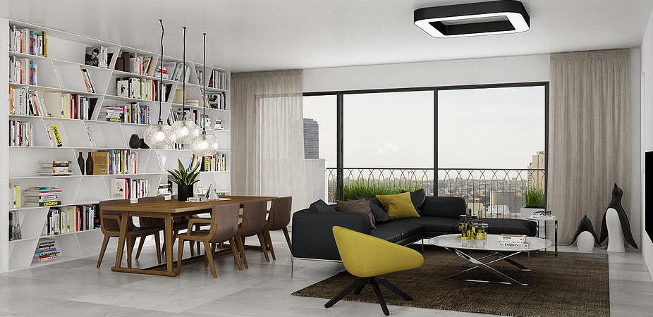 New Penthouse for Sale in the Heart of Tel Aviv