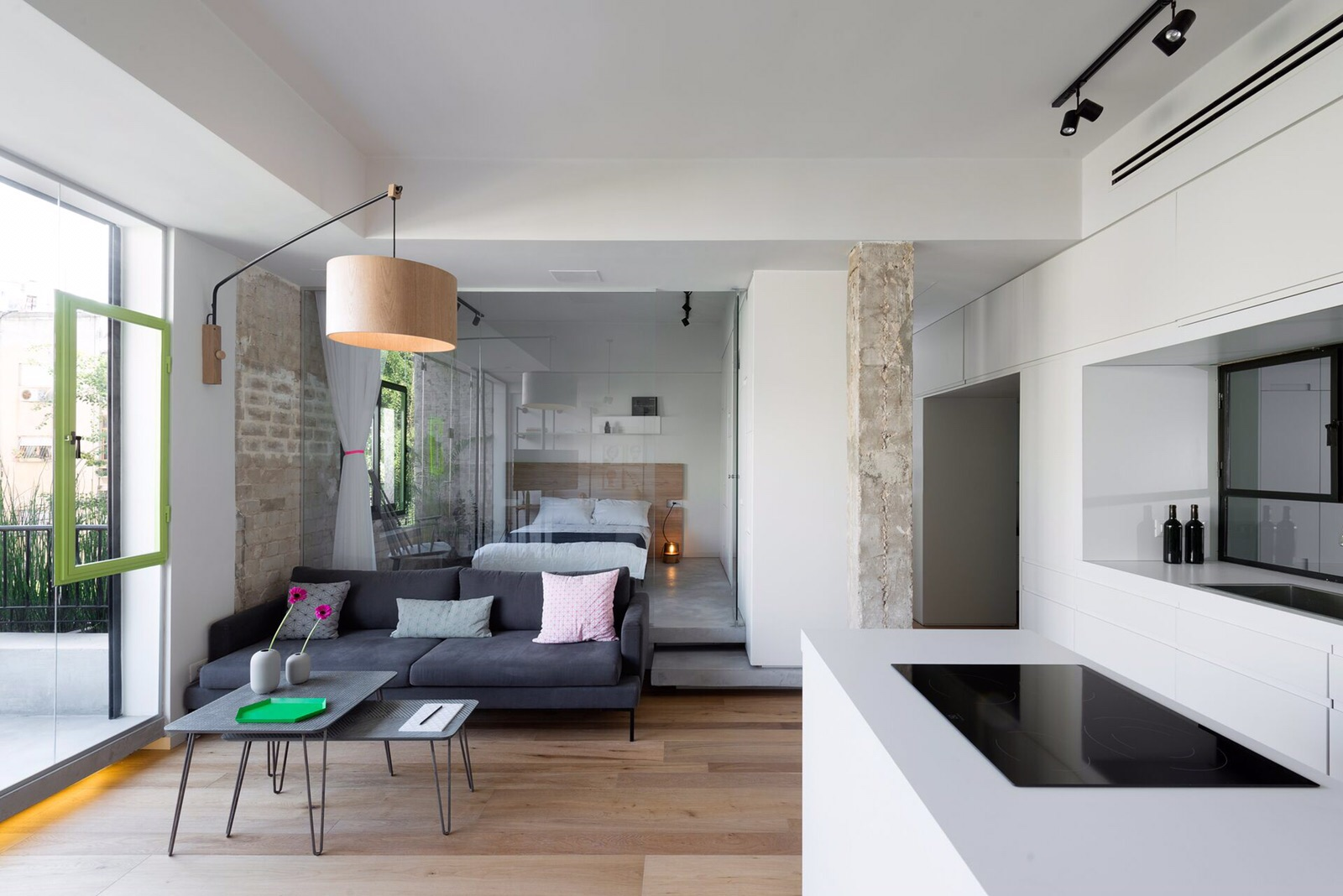 Modern & Minimalist 2BR Apartment for Sale in Tel Aviv's Old North