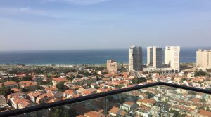 3 Bedroom Apartment for Rent in the Lieber Tower in Neve Tzedek