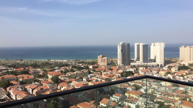 3 Bedroom Apartment for Rent in the Lieber Tower in Neve Tzedek