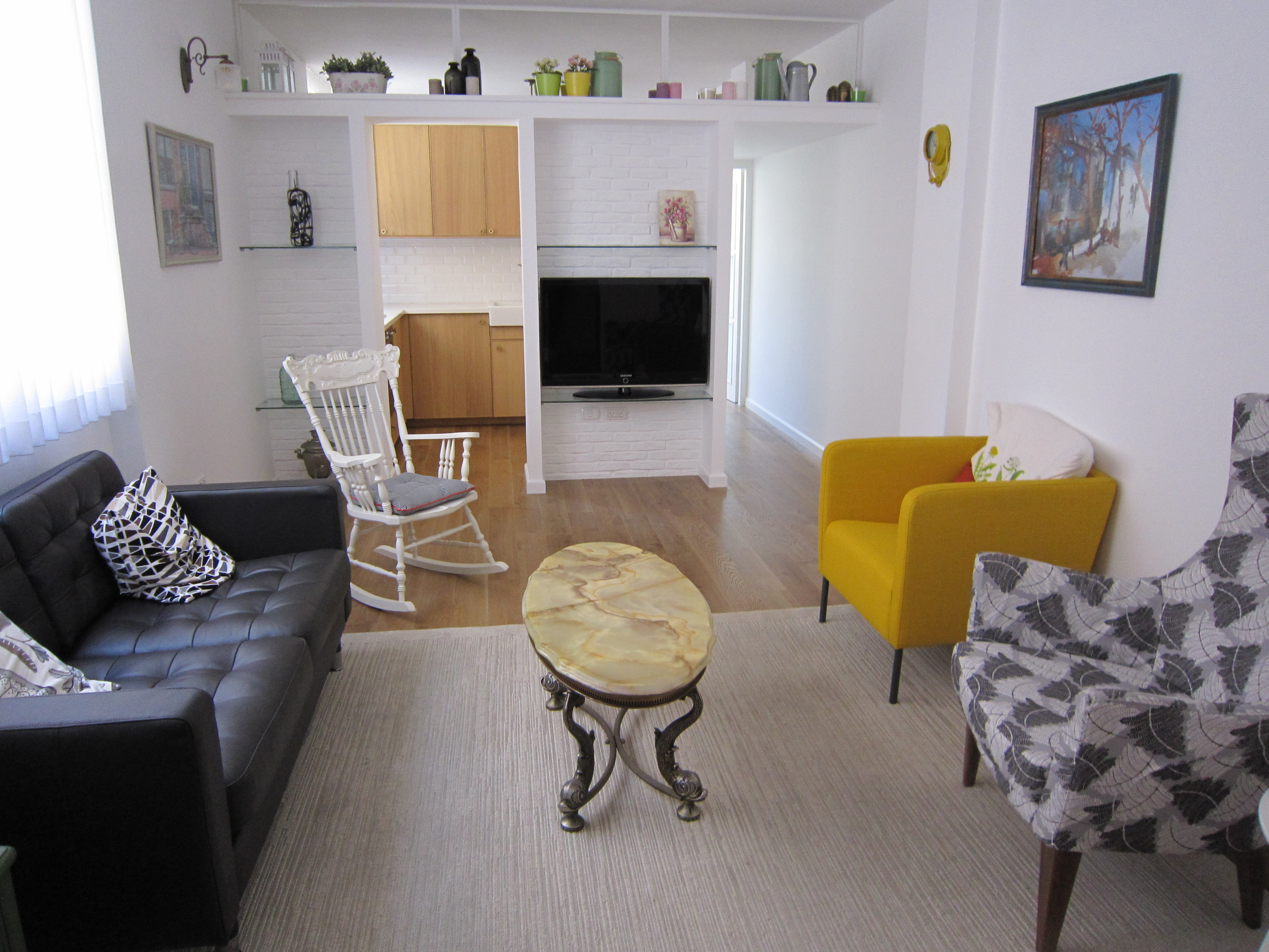 3 Bedroom Apartment Next to Park HaYarkon in Tel Aviv's Old North