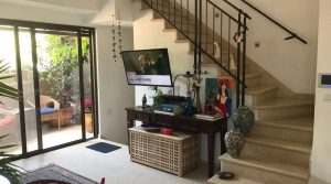 Tranquil & Green 3 Bedroom Apartment for Rent in Tel Aviv's Lovely Neve Tzedek Quarter