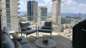 2BR Apartment for Sale in the Meier on Rothschild Tower in Tel Aviv with Breathtaking Views