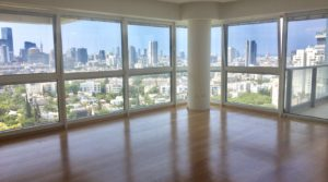 3 Bedroom Apartment for Rent in the Akirov Towers in North Tel Aviv