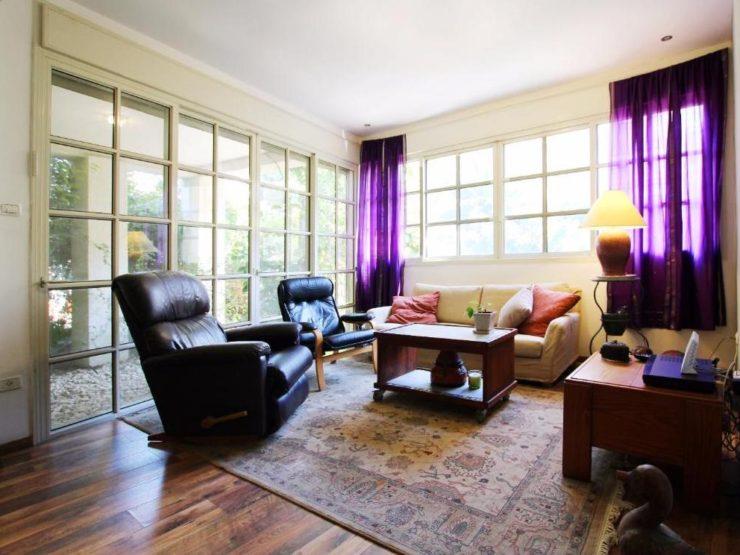 3 Bedroom Apartment with Garden for Sale on Sderot Chen in Tel Aviv's City Center
