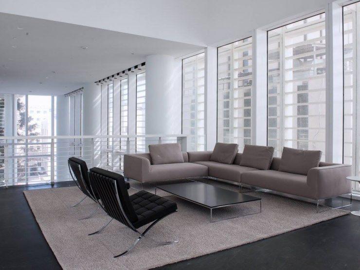 Apartments for Mid Term Rental in the Meier on Rothschild Tower in Tel Aviv