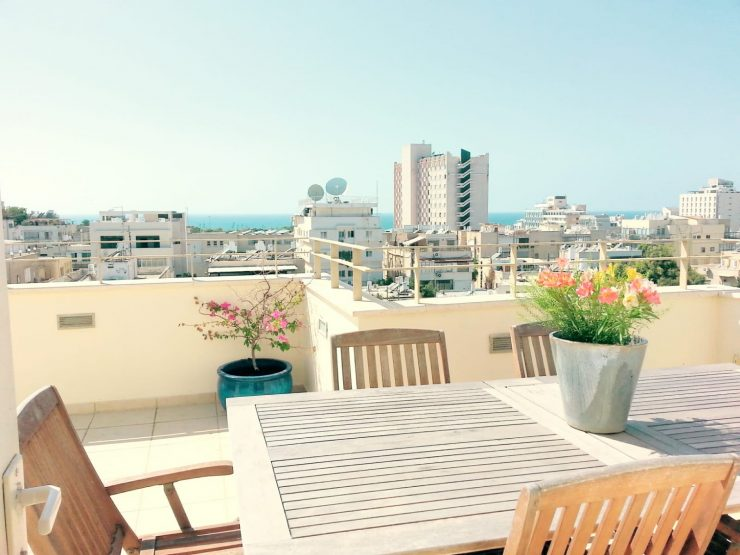 3 Bedroom Penthouse for Sale in the Old North of Tel Aviv